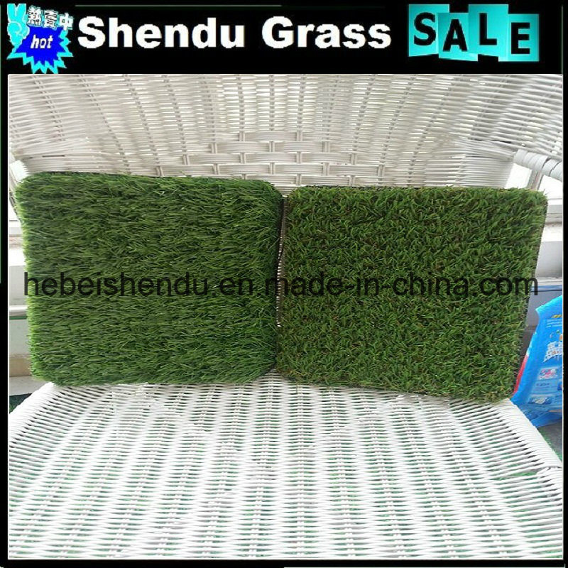 Landscape Synthetic Grass Turf 25mm with 4 Tone Color