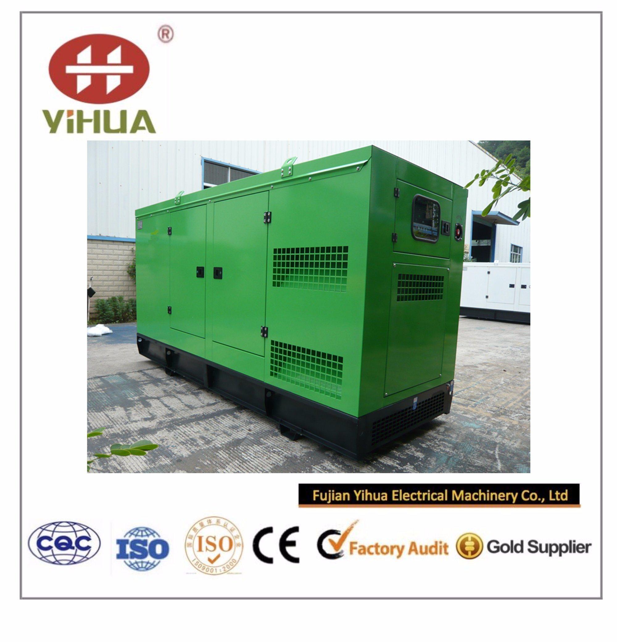 Cummins Power Soundproof Generator with CIQ/Soncap/Ce Certifications (20kVA~250kVA)