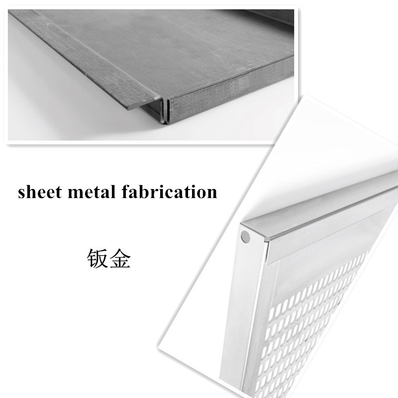 Low Price Sheet Metal Fabrication for Barbecue Frame (GL069)