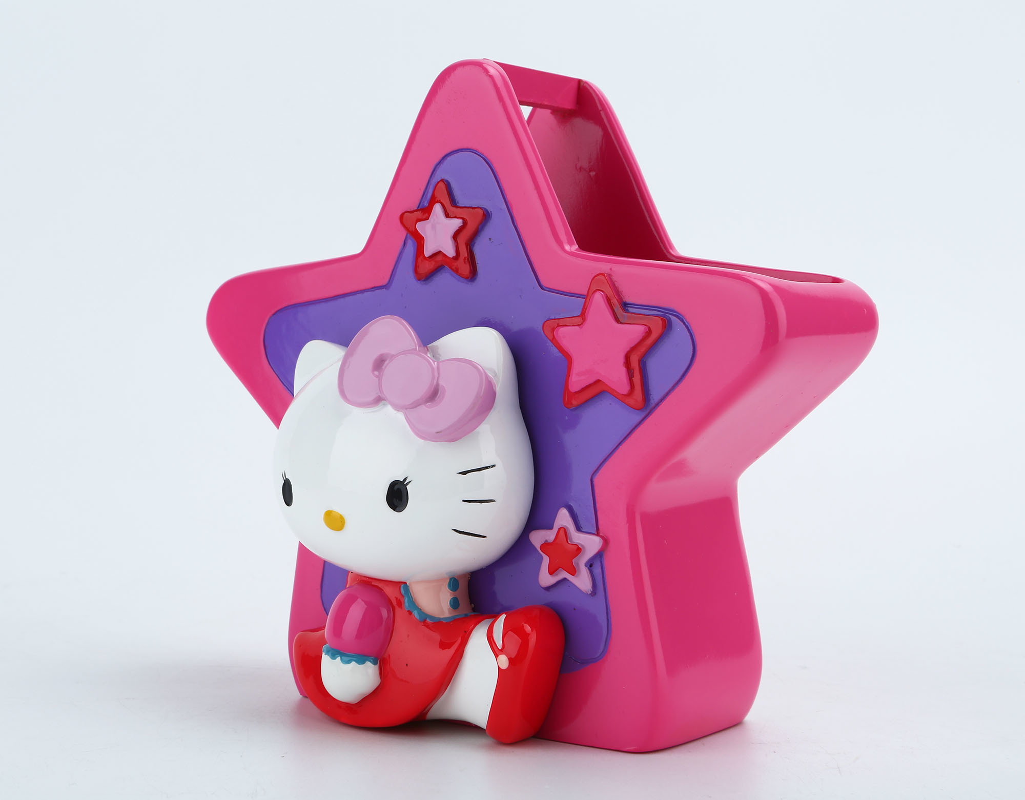Hand Paint Hello Kitty Licensed Polyresin Bathroom Accessory