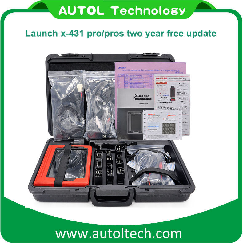 Original Launch X431 PRO 8′′ Tablet PC Auto Car Diagnostic Tool Free Update on Official Website X-431 Proglobal Version