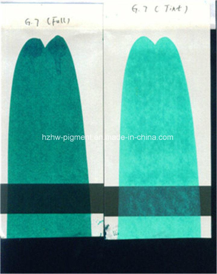 Organic Pigment Fast Green G (C. I. P. G. 7)