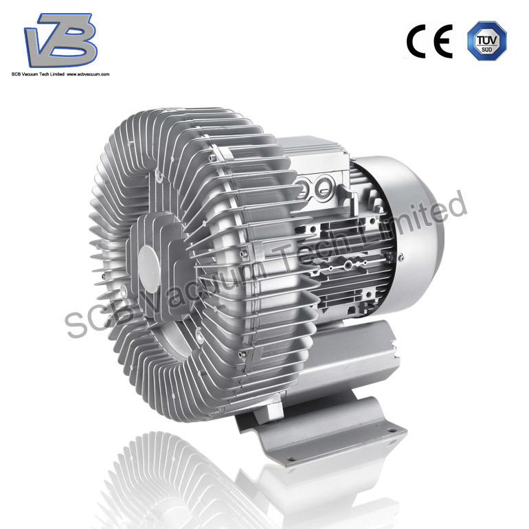 7.5kw Turbo Ring Blower Vacuum Blower for Package Machine
