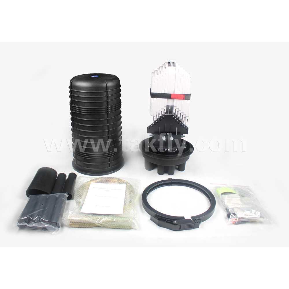 FTTH 288 Cores Vertical Outdoor Waterproof Fiber Optic Splice Closure