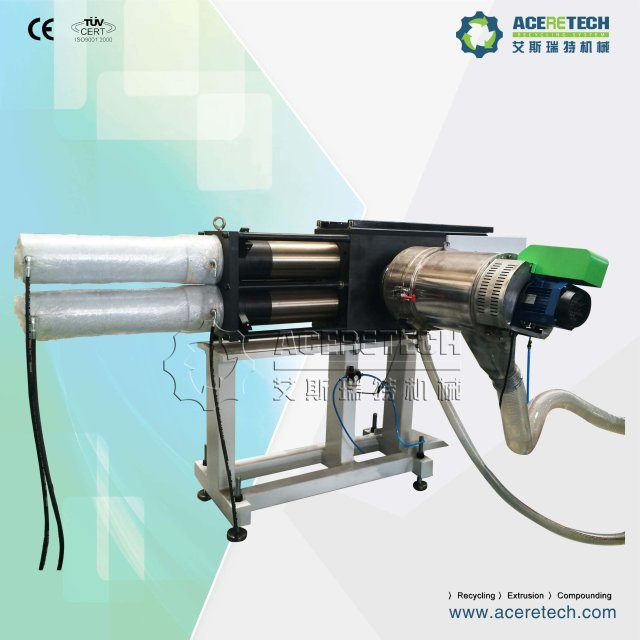 Advanced Non-Stop Melt Filtration Screen Changer for Plastic Recycling