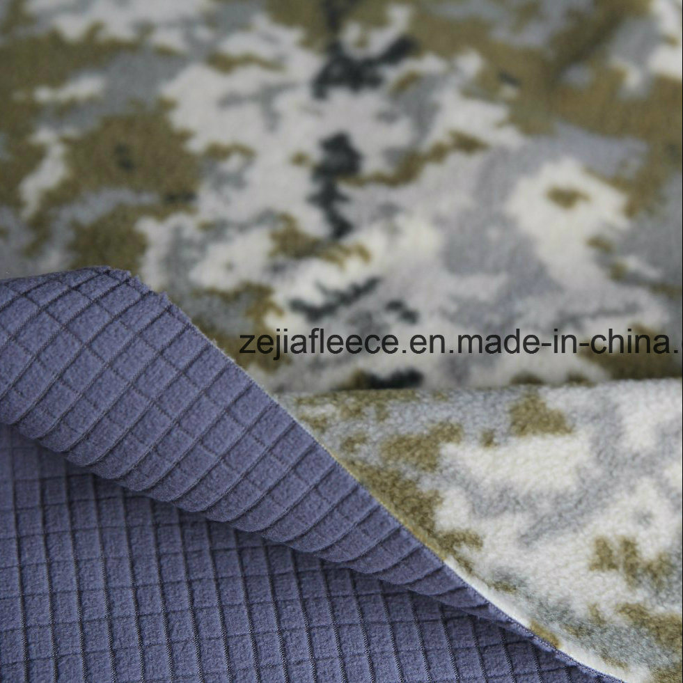 Bonded Fabric, Camo Micro Fleece and Perforated Micro Fleece