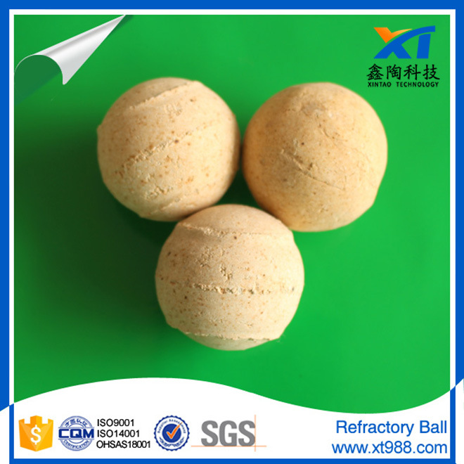 65% Alumina Ceramic Refractory Ball for Rto