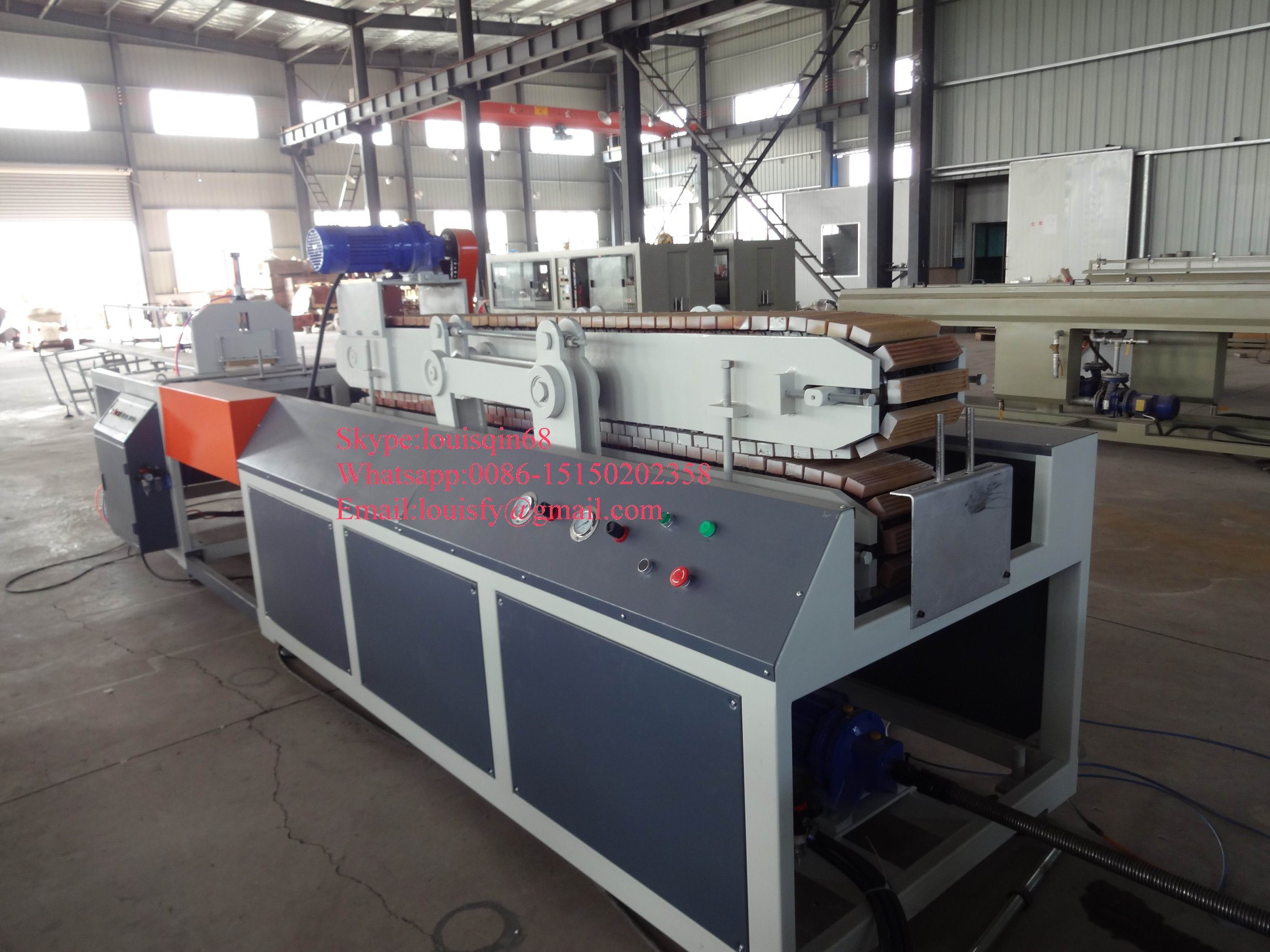 Good Quality PVC Window Profile Extrusion Machine