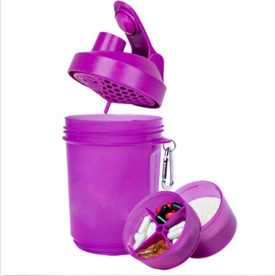 New Products 600ml Plastic Protein Joyshaker Bottle with Blender Mixer Ball
