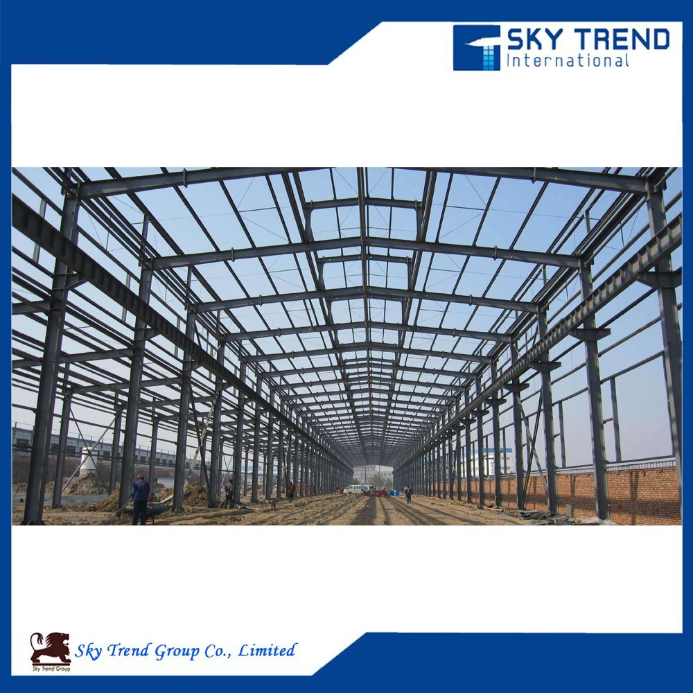 Galvanized Steel Profile Prefabricated Steel Structure Building