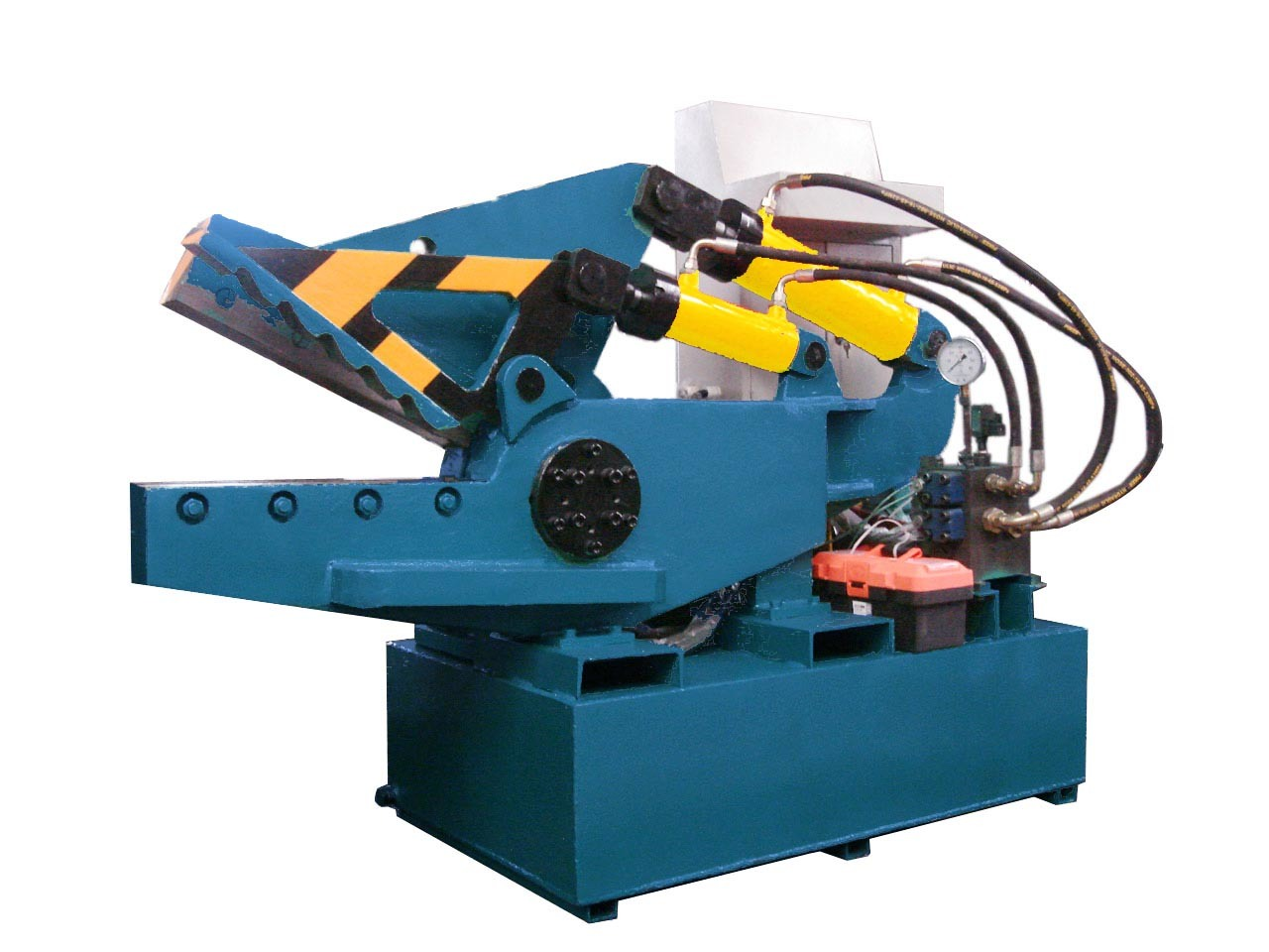 Crocodile Shear for Metal Scrap Steel Aluminum Shear Machine-- (Q08)