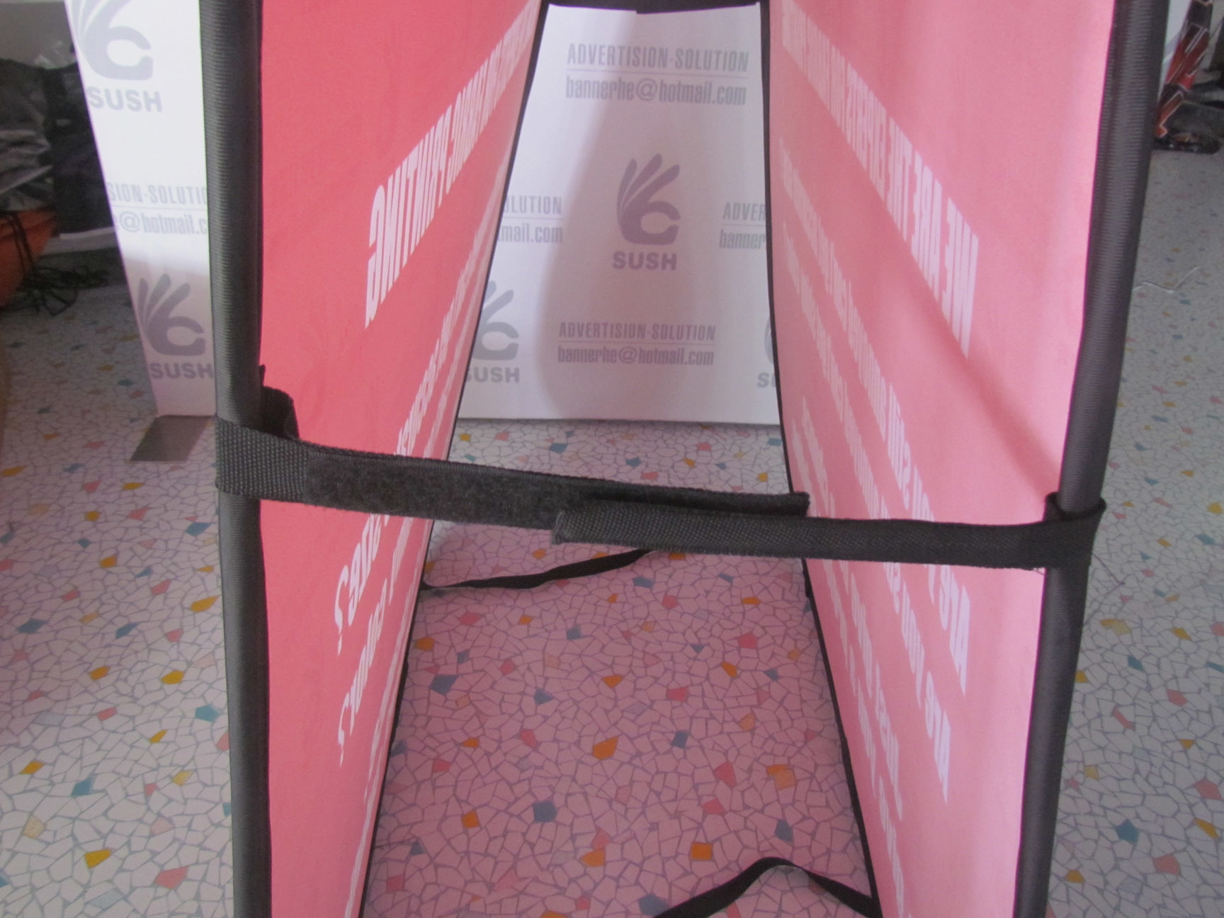Portable Folding Pop up a Frame Display Banner