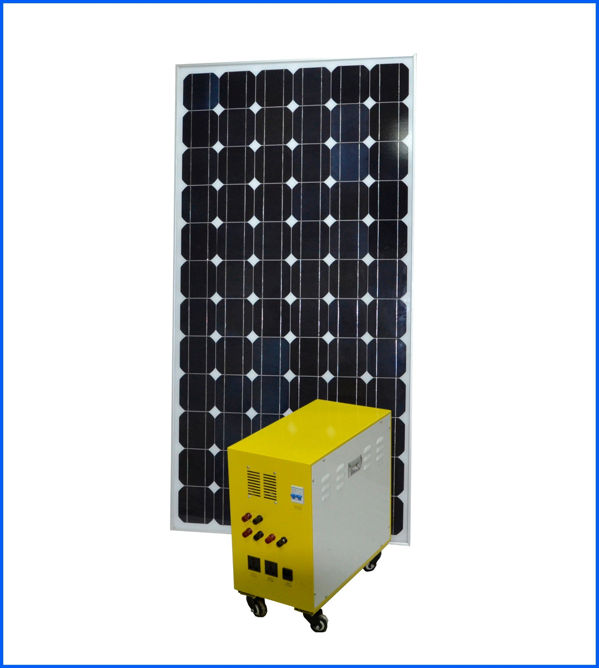 100W Mono Solar Panel with High Efficiency