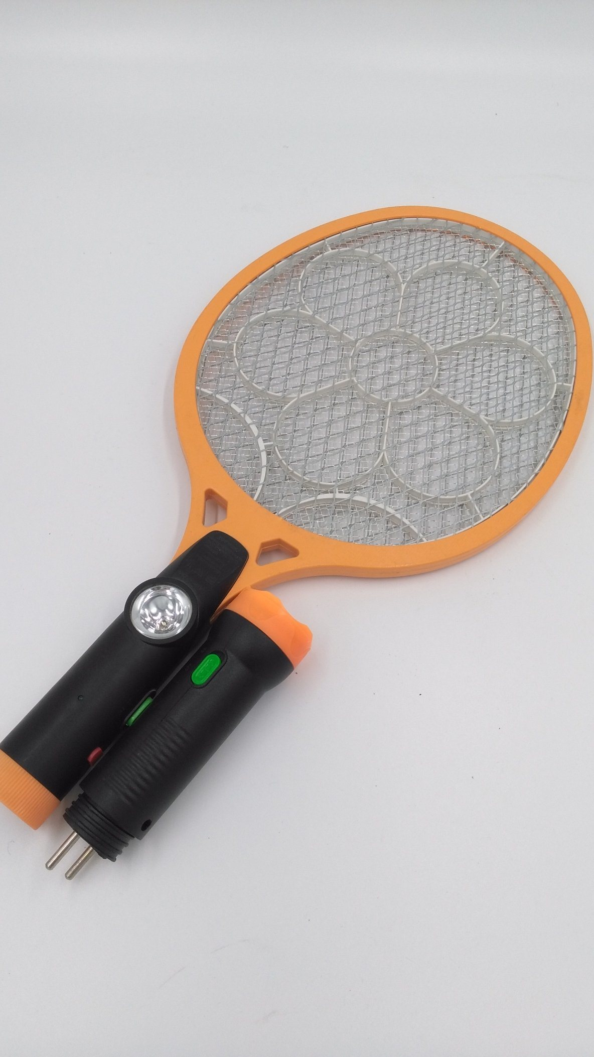 Electronic Mosquito Killer Bat with LED & Separable LED Torch High Quality HIPS