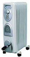 GS Ce RoHS 140X580mm Home Appliance Oil Filled Radiator with 11 Fins