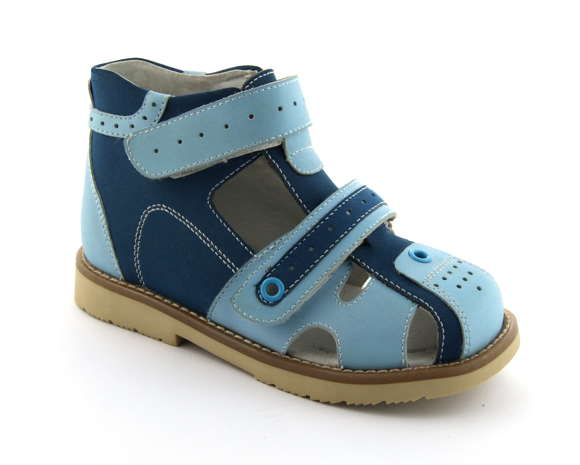 Kids Orthopedic Shoes with Hard Heel Counter for Health Wearing