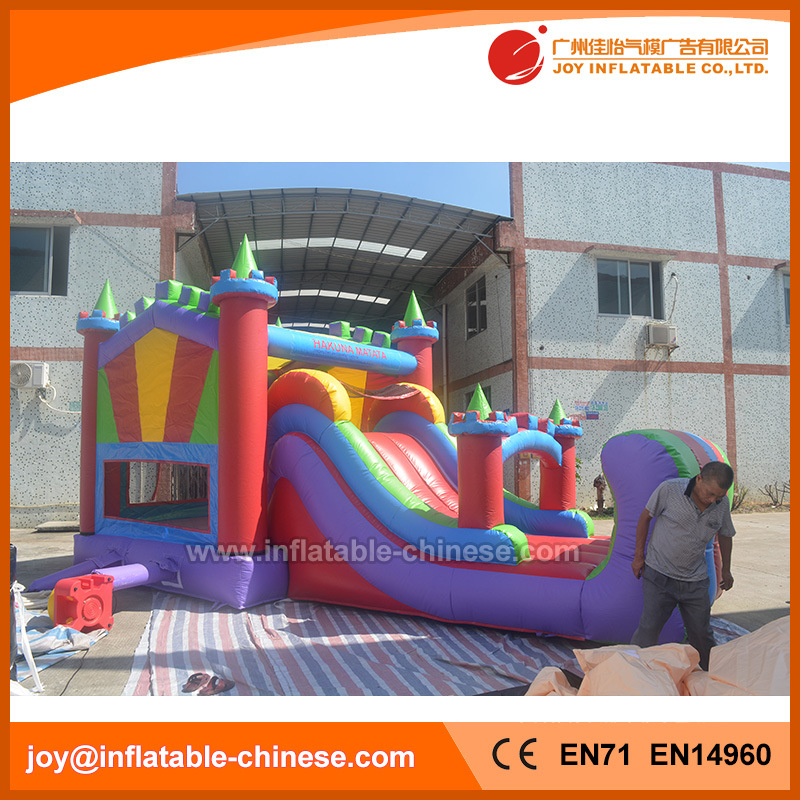 Inflatable Princess Bouncy Jumping Castle for Amusement Park (T3-520)