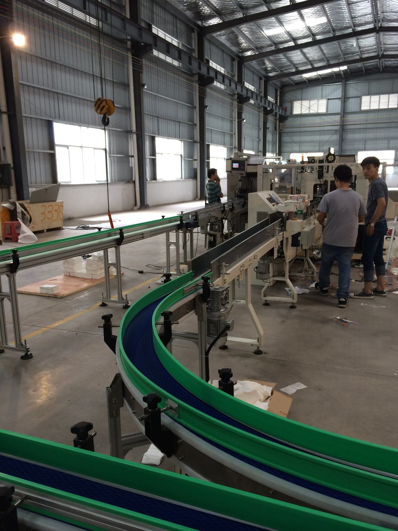 Yekon Tissue Folding Produce Line