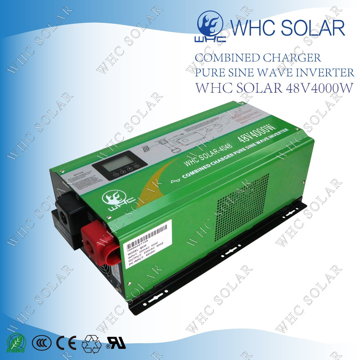 Intelligent Low Frequency Solar Power 4000W Inverter