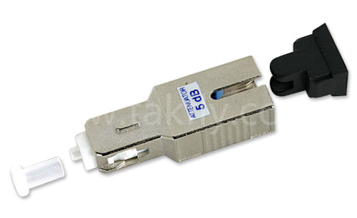 0-25dB Sc Upc APC Metal Housing Fiber Attenuator