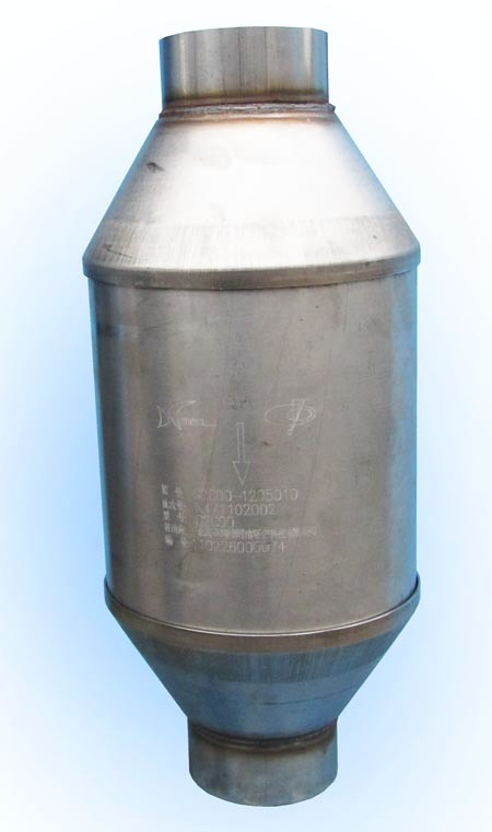 Supply LNG CNG LPG Catalytic Converter