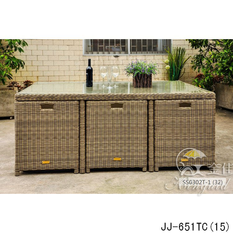 PE Rattan Furniture, Outdoor Furniture Jj-651