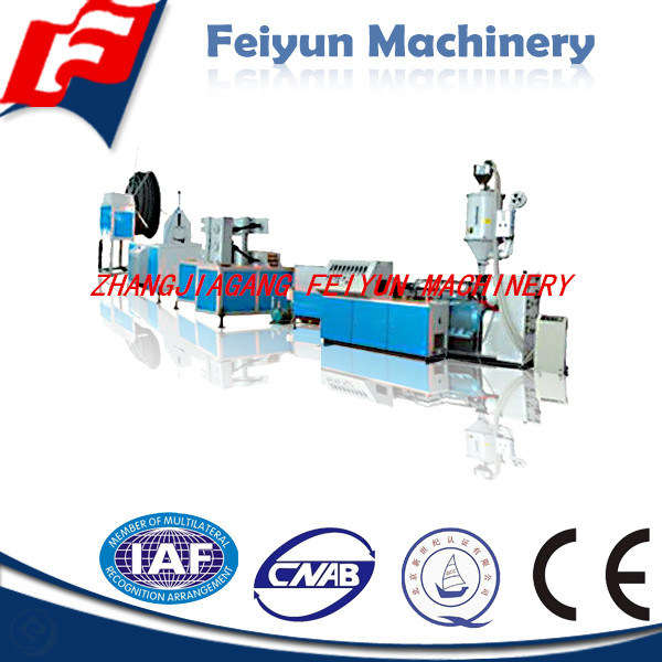 6-10mm PE Single Wall Corrugated Pipe Production Line