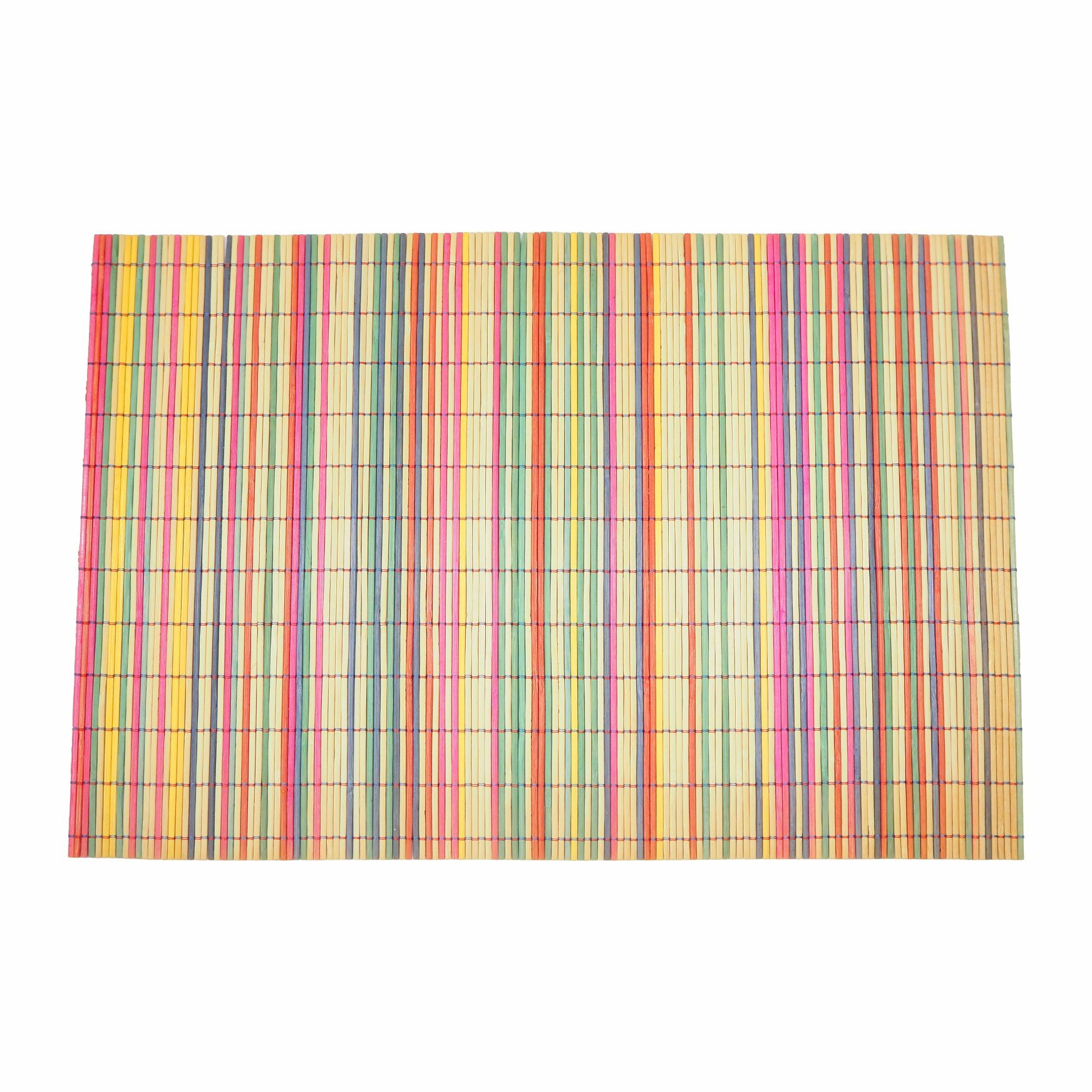 Natural Bamboo Strips Mat for Tabletop