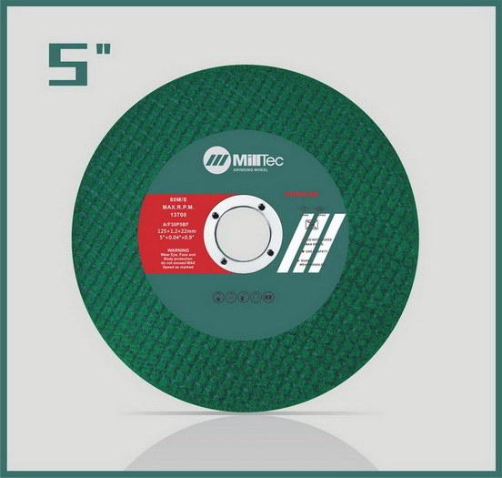 Flat Cutting Wheel for Metal (125*1.2*22)