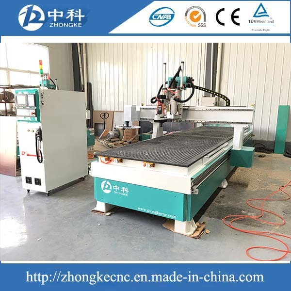 12 Cutters Auto Tool Changing Row Boring Atc CNC Router