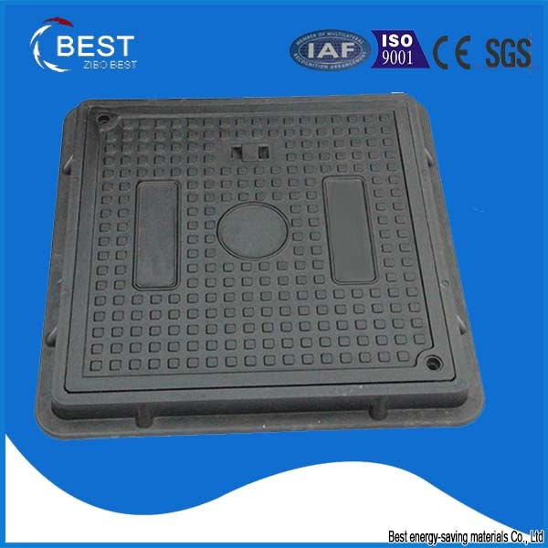 SMC Composite Manhole Cover with Lockable System