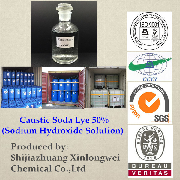 (ISO 9001 Certified) Caustic Soda Lye