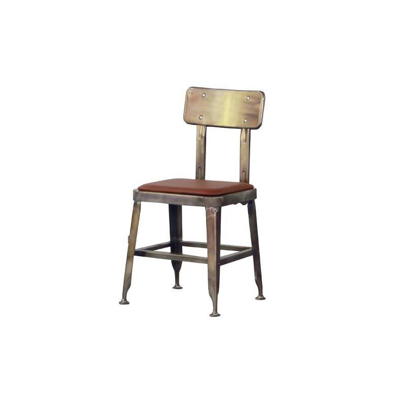 Industrial Metal Restaurant Dining Furniture Steel Lyon Chair