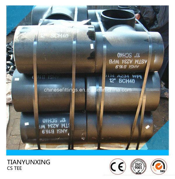 Butt Welded Sch40 Carbon Steel Seamless Tee