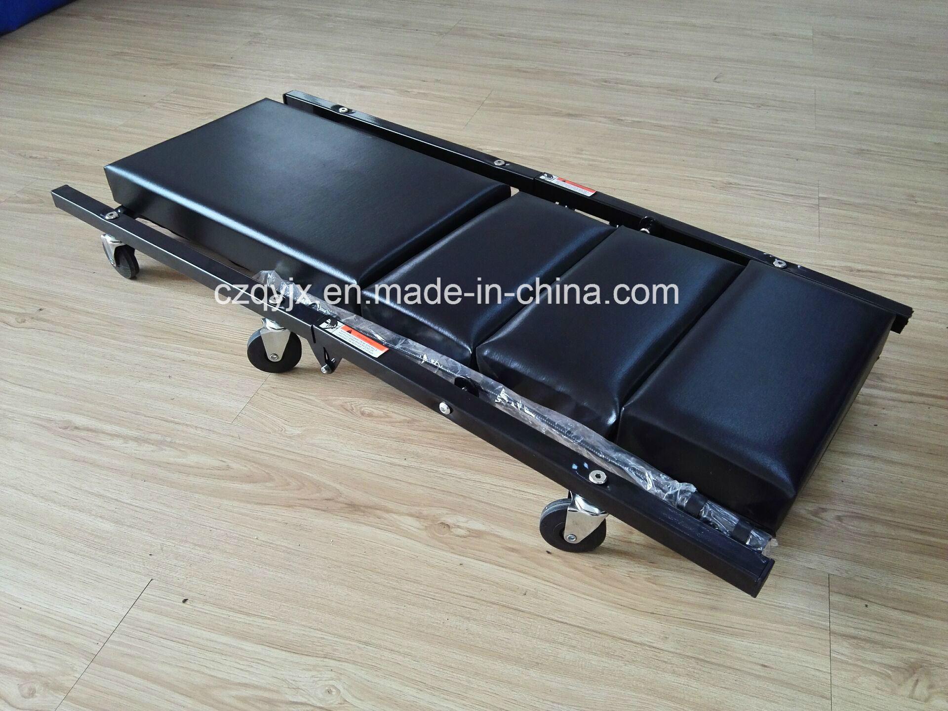 40 Inch Foldable Adjustable Headrest Creeper