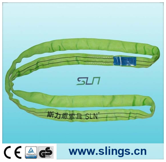 2017 Endless Yellow 3t*5m Round Sling with Ce/GS