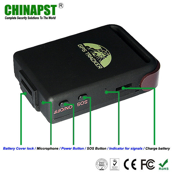 Smallest Personal & Vehicle GPS Tracker (PST-PT102B)