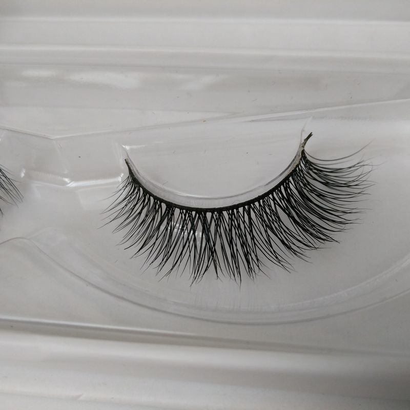 Hot Sale 100% Handmade Siberian Mink False Eyelashes with Custom Packaging