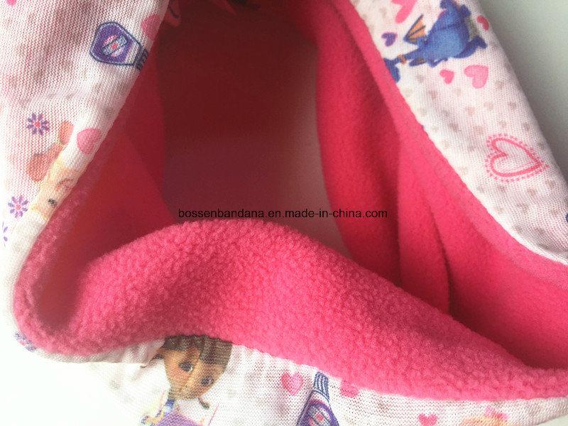 Factory OEM Produce Custom Logo Printed Kid′s Polar Fleece Multifunctional Seamless Magic Neck Warmer