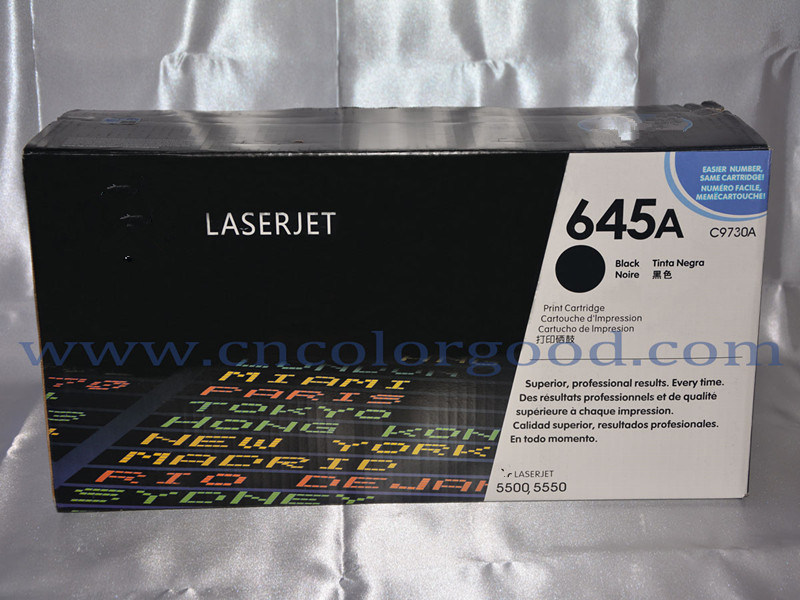 Original/OEM for HP Printer Color Toner Cartridge 645A C9730A/C9731A/C9732A/C9733A