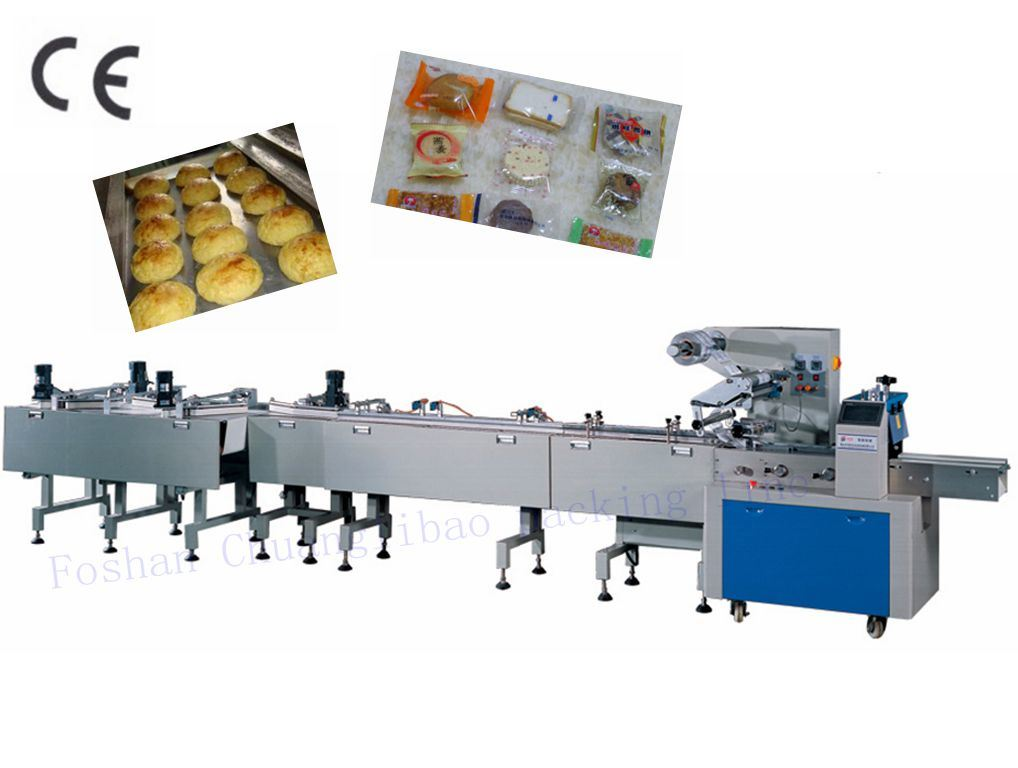 Automatic Snacks Feeding and Packing Line (CB-120ZL)