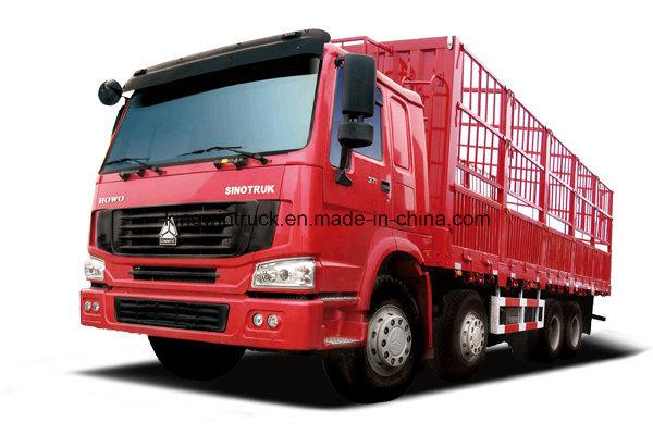 Sinotruk HOWO Brand 4X2 with Body Cargo Truck