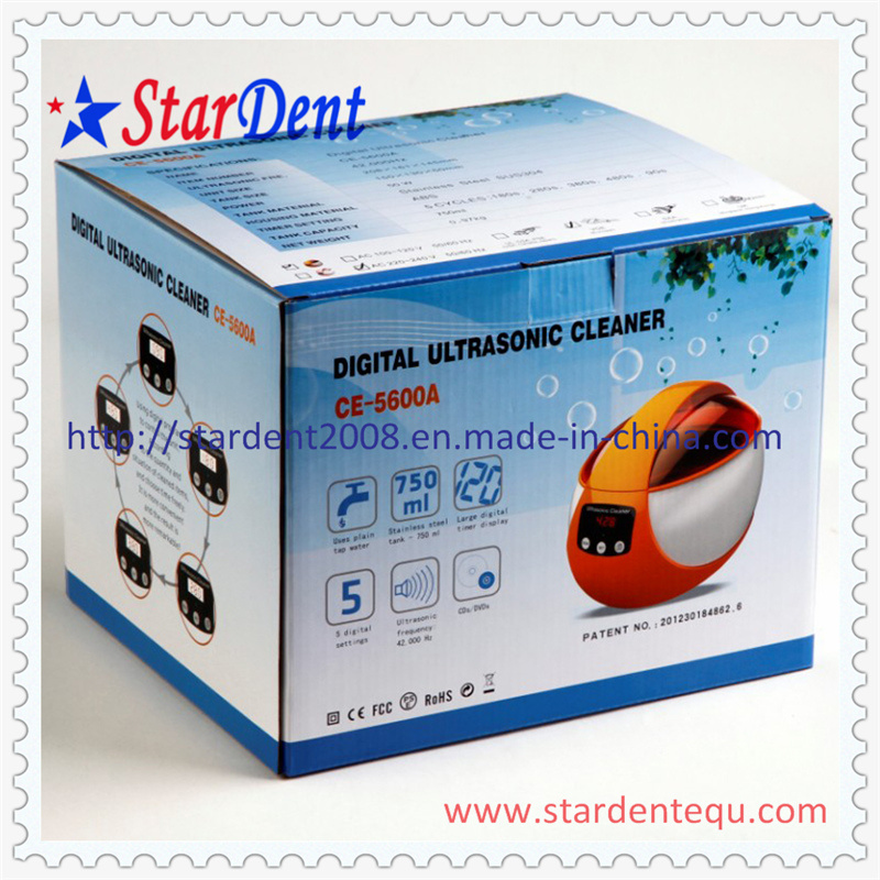 750ml Colorful Ultrasonic Cleaner of Dental Equipment