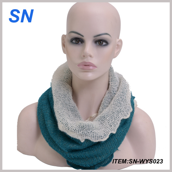 Knit Winter Scarf 2014 Thick and Warm Scarf Knit (SN-WYS023)