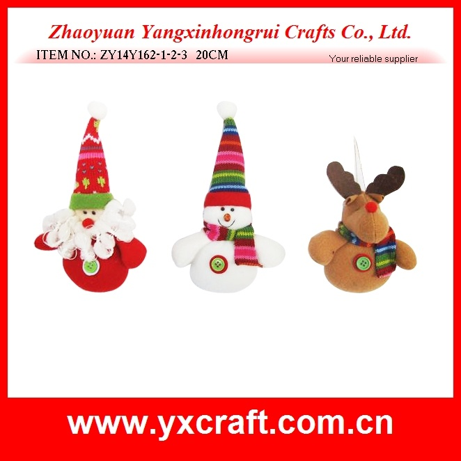 Christmas Decoration (ZY14Y162-1-2-3) Christmas Sitting Art Craft