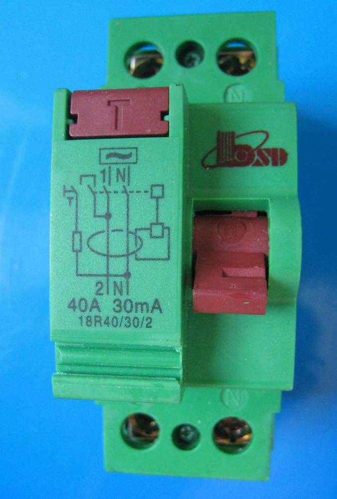 ELCB/RCCB (F360 Series) Residual Current Circuit Breaker, 2p, 4p. 30mA