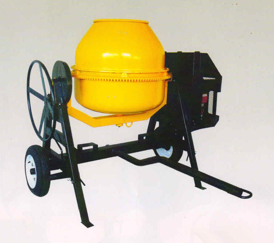 High Capacity High Speed Concrete Mixer