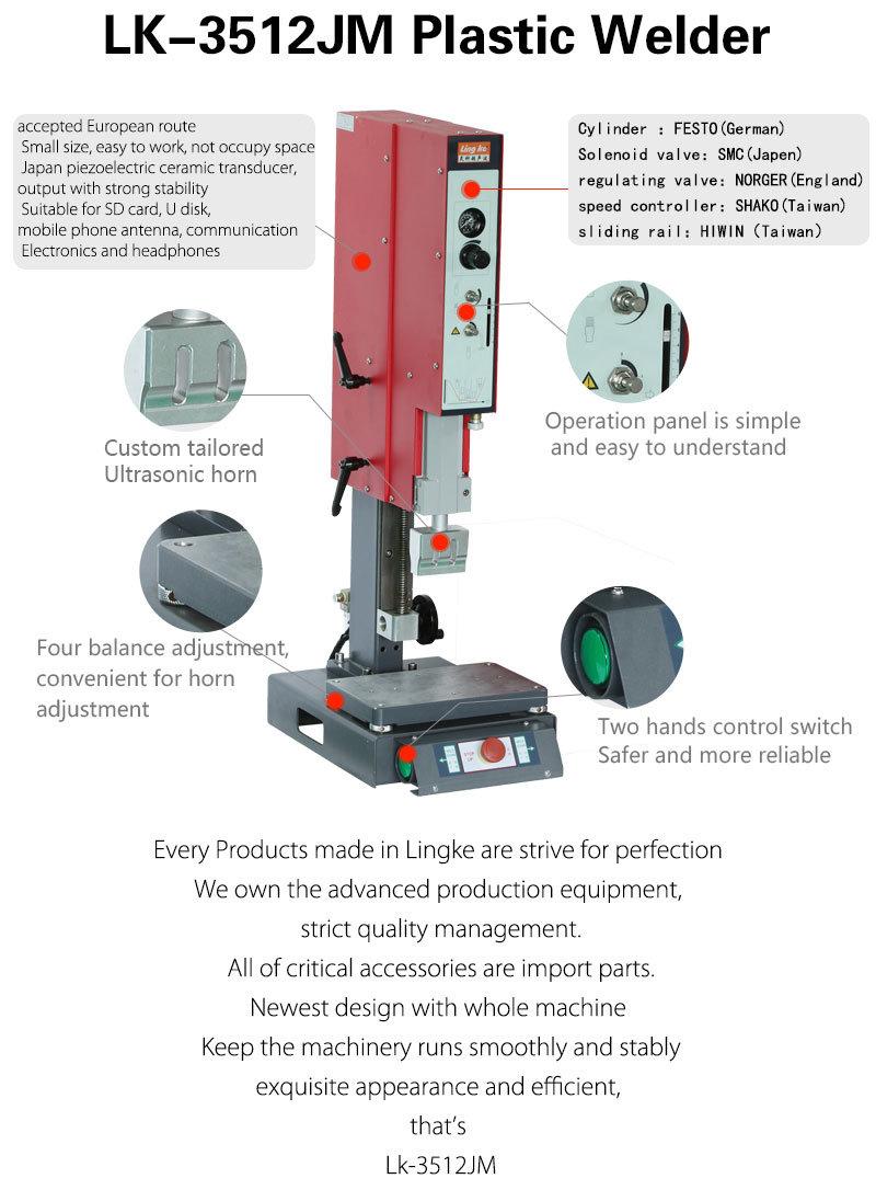 Lk 3512jm 900W Precision High Frequency Machine
