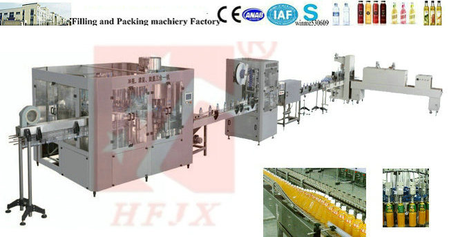 Juice Production Line, Small Bottle Juice Bottling Machine