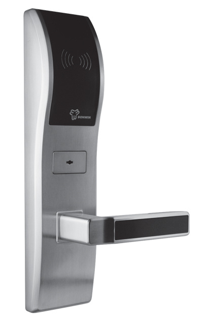 hotel lectronique door lock avec smart card bw803sc s. Black Bedroom Furniture Sets. Home Design Ideas